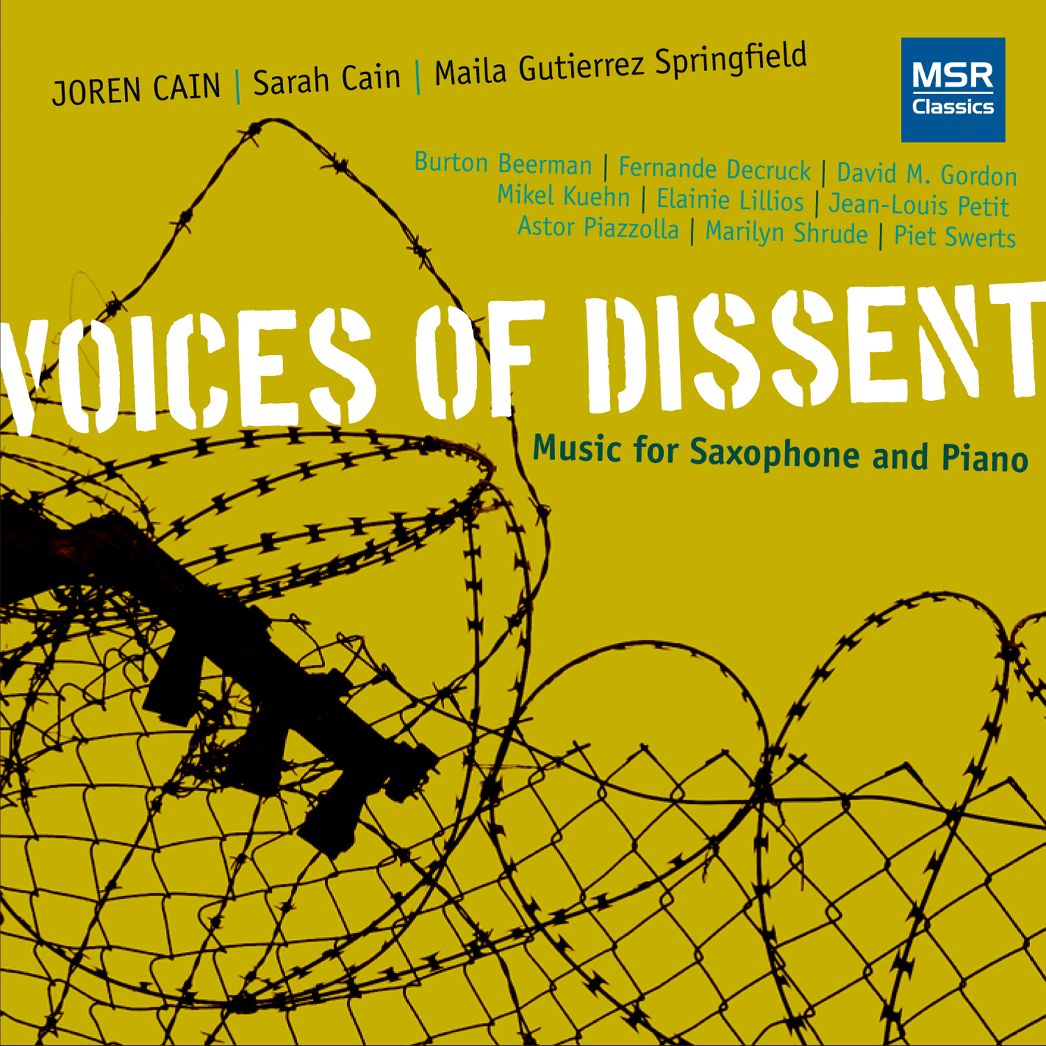 Cain Voices of Dissent CD Cover Image
