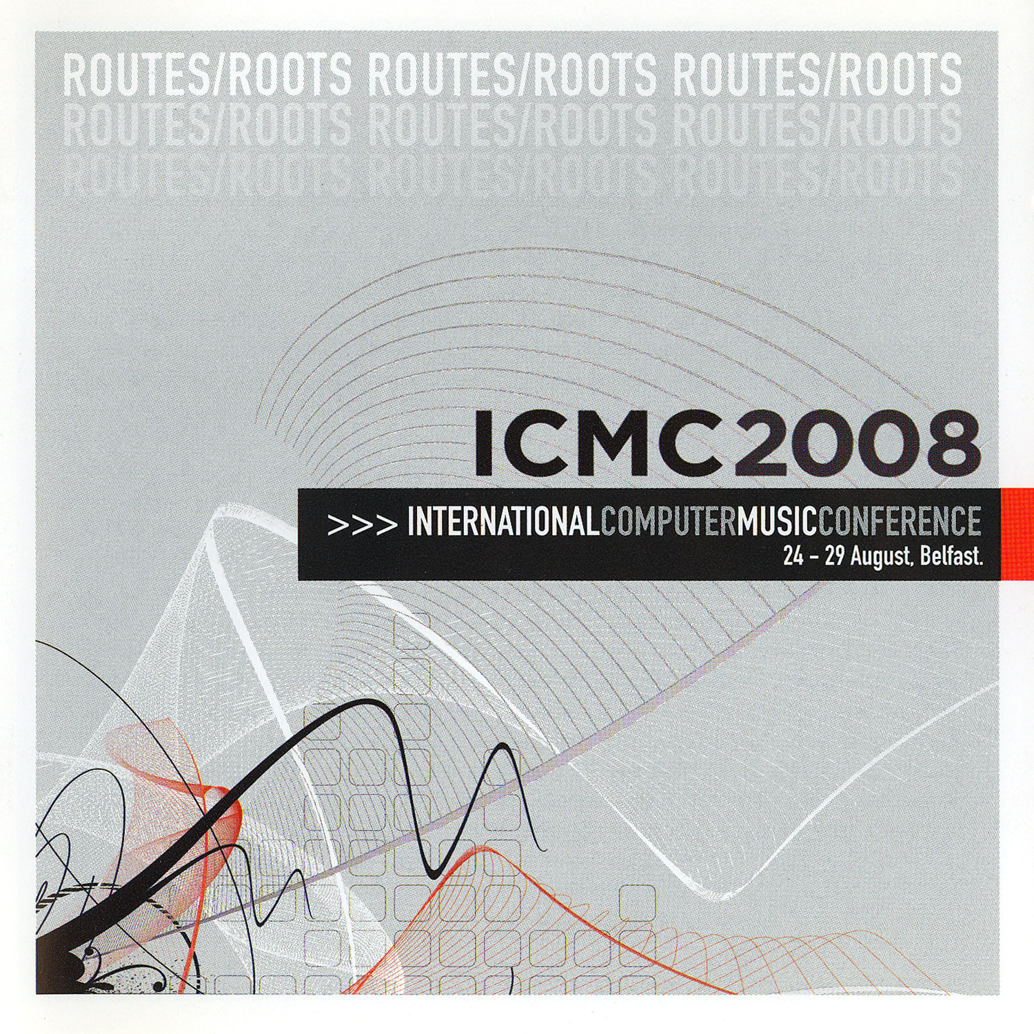 ICMC 2008 CD Cover Image